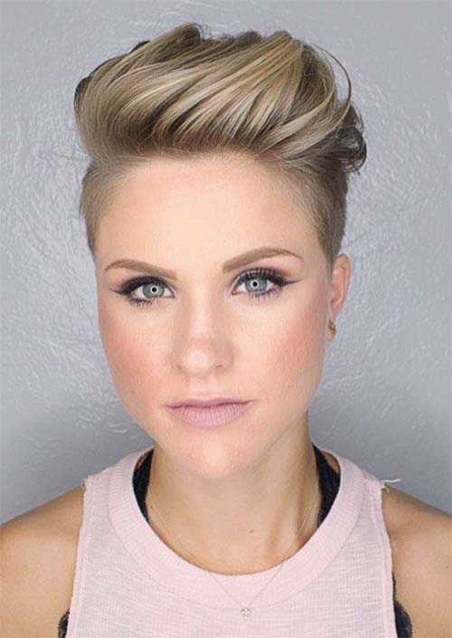 Short Undercut Haircuts For Women 6 Haircuts