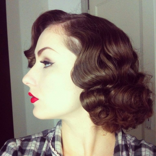 Awesome Image 17 Of 19 Short Retro Vintage Hairstyle Photo Gallery Vintage Hairstyles Short Hair