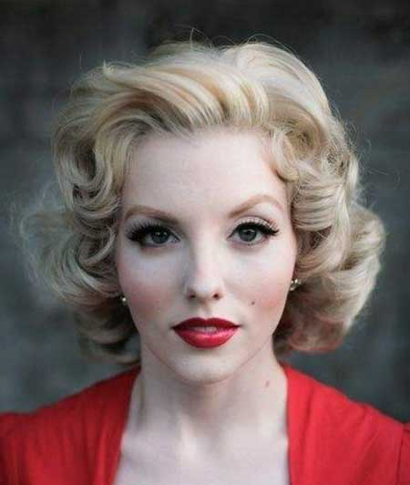 Vintage Hairstyles For Short Hair 15