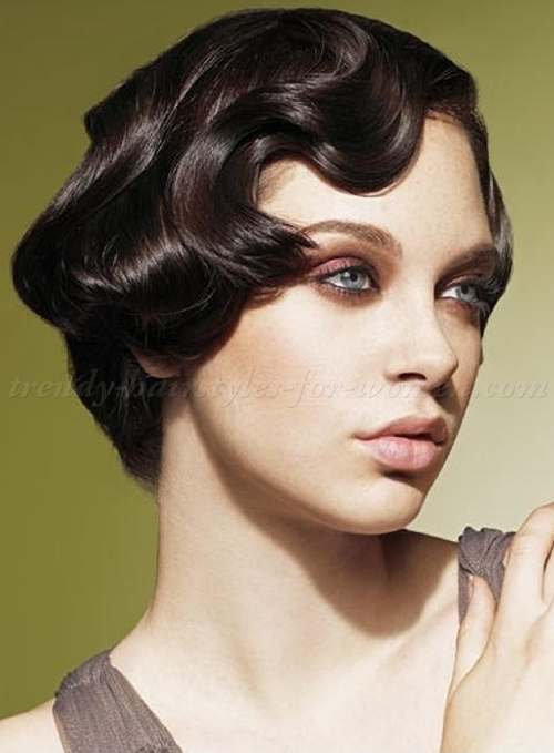 Vintage Hairstyles For Short Hair 17