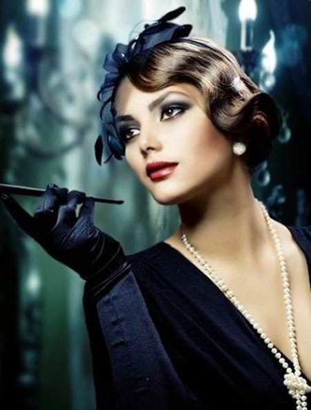 Vintage Hairstyles For Short Hair 18