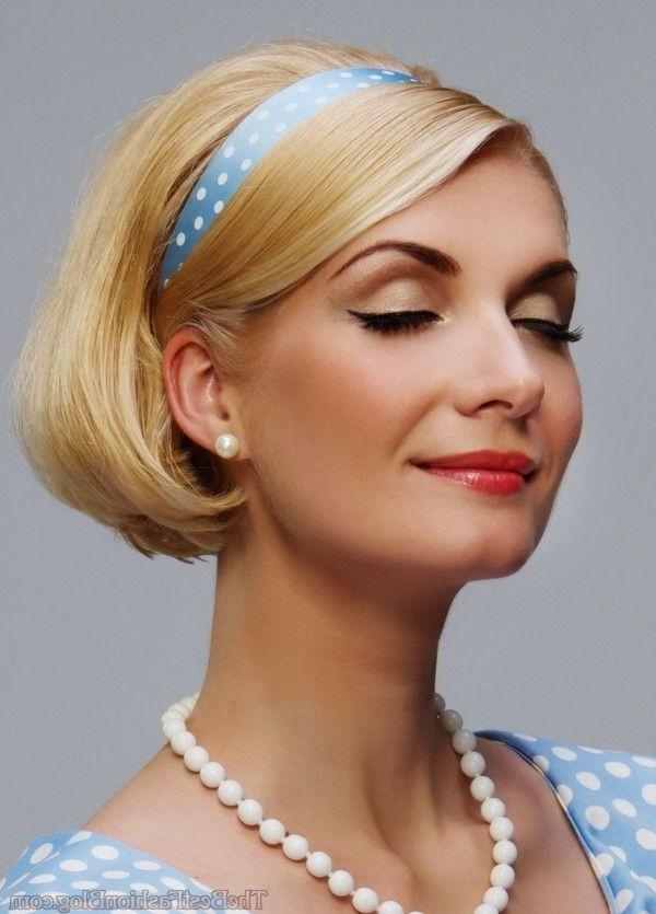 1950S Pin Up Hairstyles For Short Hair Hairstyles In Vintage Hairstyle For Short Hair