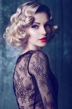 Vintage Hairstyles For Short Hair 3