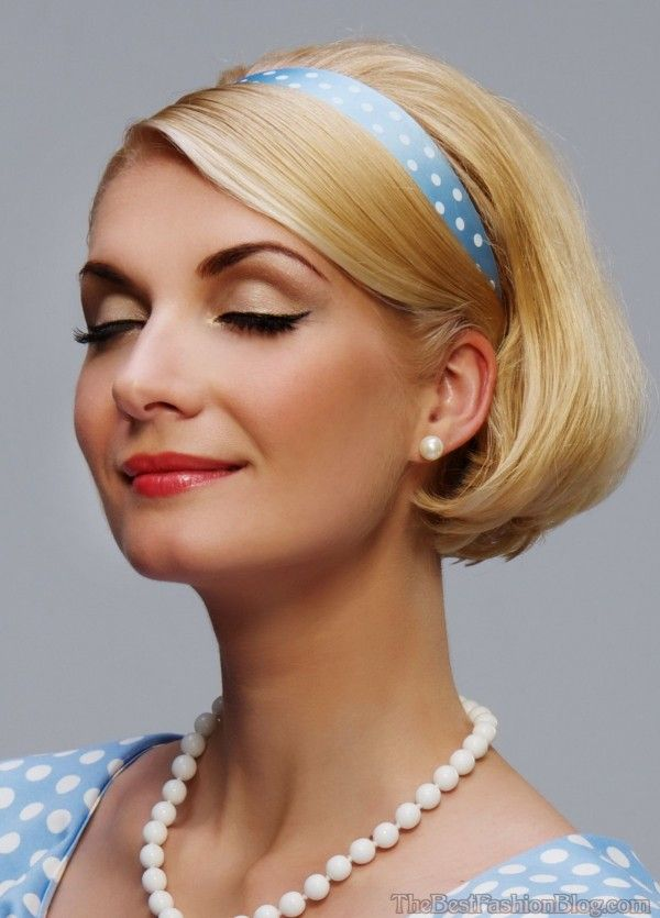 Vintage Hairstyles For Short Hair 5
