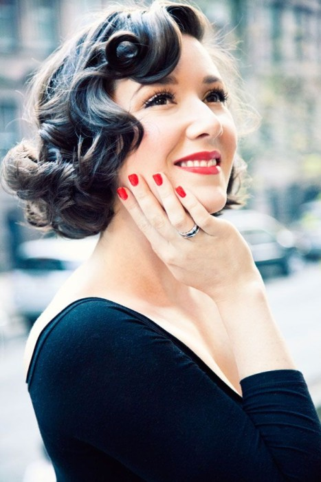 Vintage Hairstyles For Short Hair 7