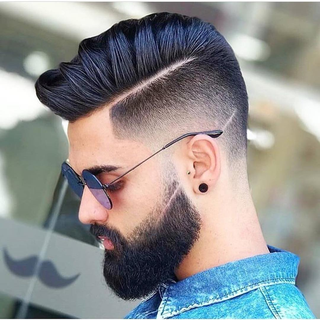 With Glasses Popular Hair For Men 2018