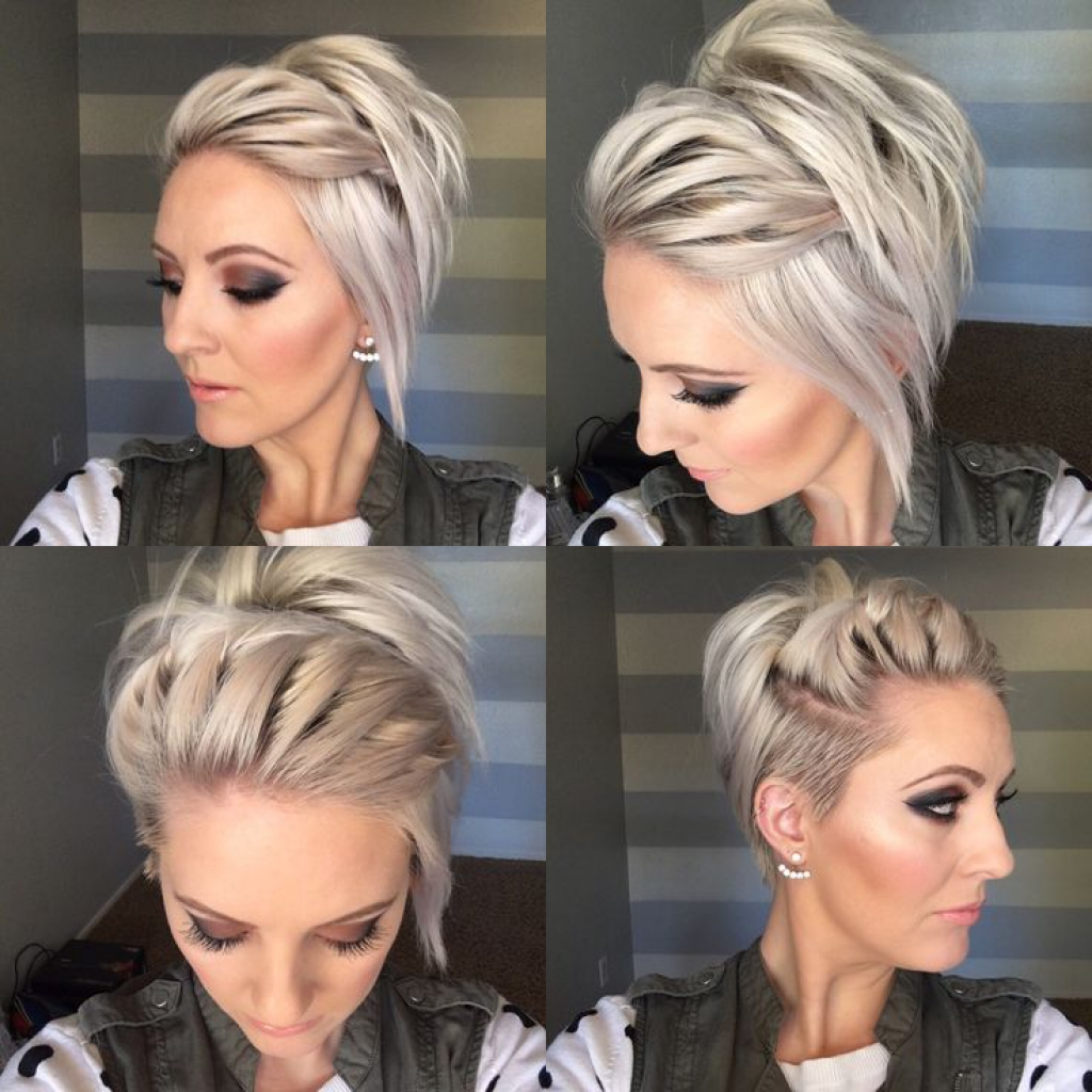 Easy Short Hairstyles For Womens 13 - Haircuts + Hairstyles 2018