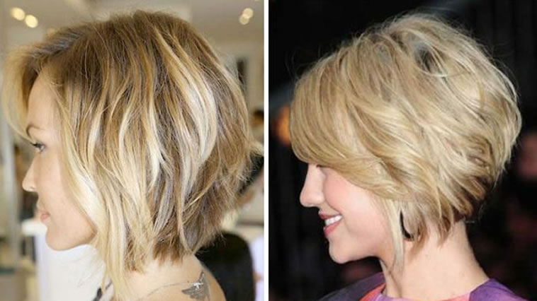 Blonde Layered Bob Haircuts For Women Over 40 Hairstyles Fashion