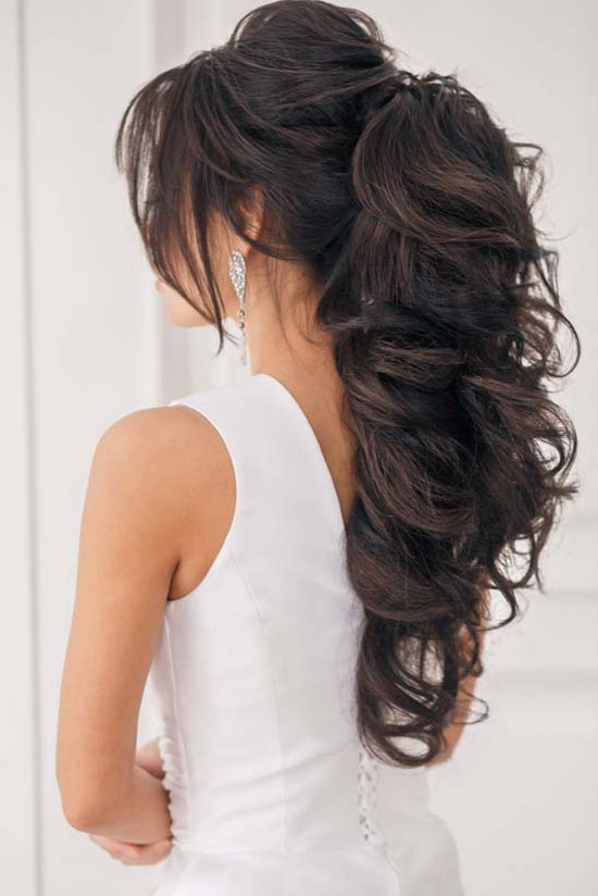 Long Wedding Hairstyles 23