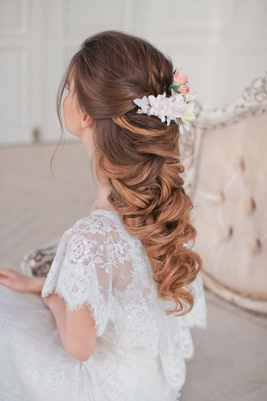 Long Wedding Hairstyles 26