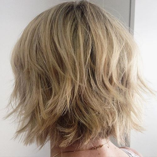 Medium Layered Haircuts 43