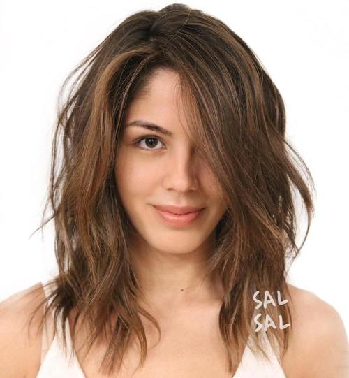 Medium Layered Haircuts 45