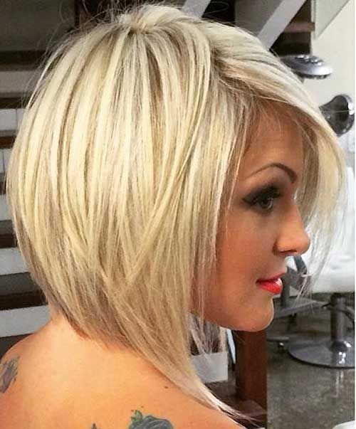 Short Blonde Hairstyles 2018 13