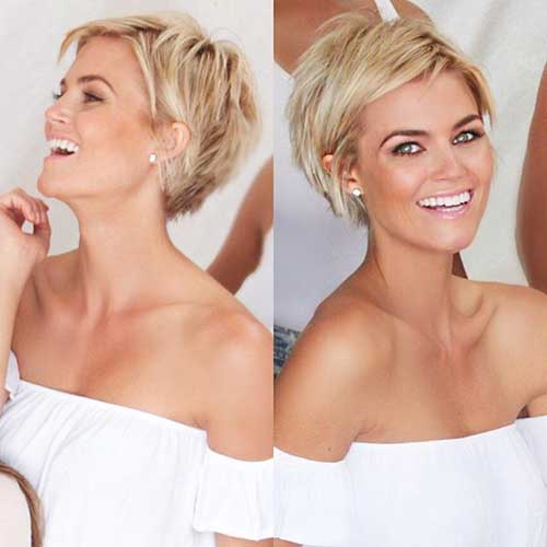 Short Blonde Hairstyles 2018 20