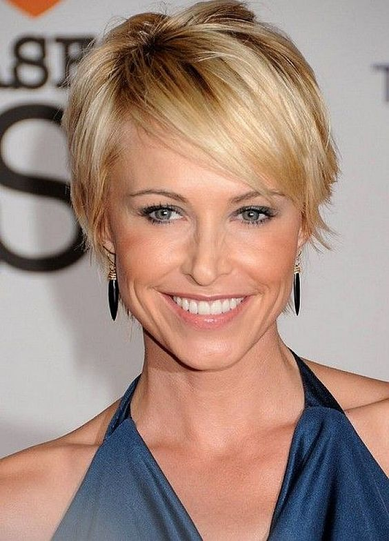 Short Blonde Hairstyles 2018 29