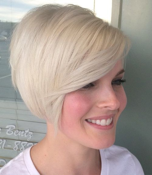 Short Blonde Hairstyles 2018 5