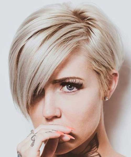 Short Blonde Hairstyles 2018 7