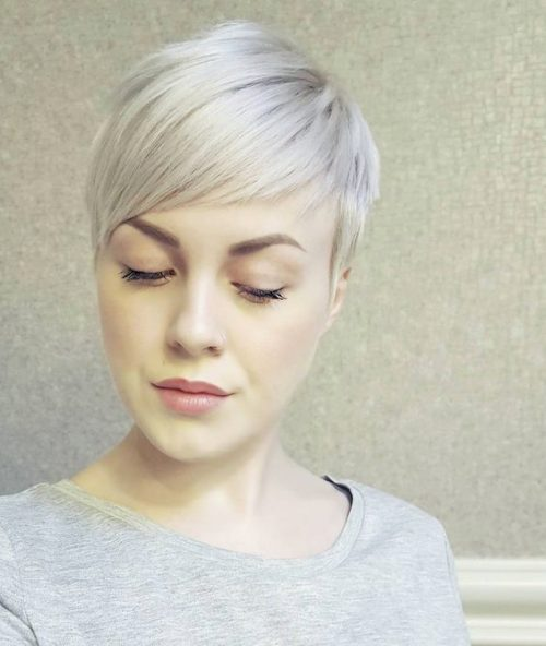 Short Blonde Hairstyles 2018 8