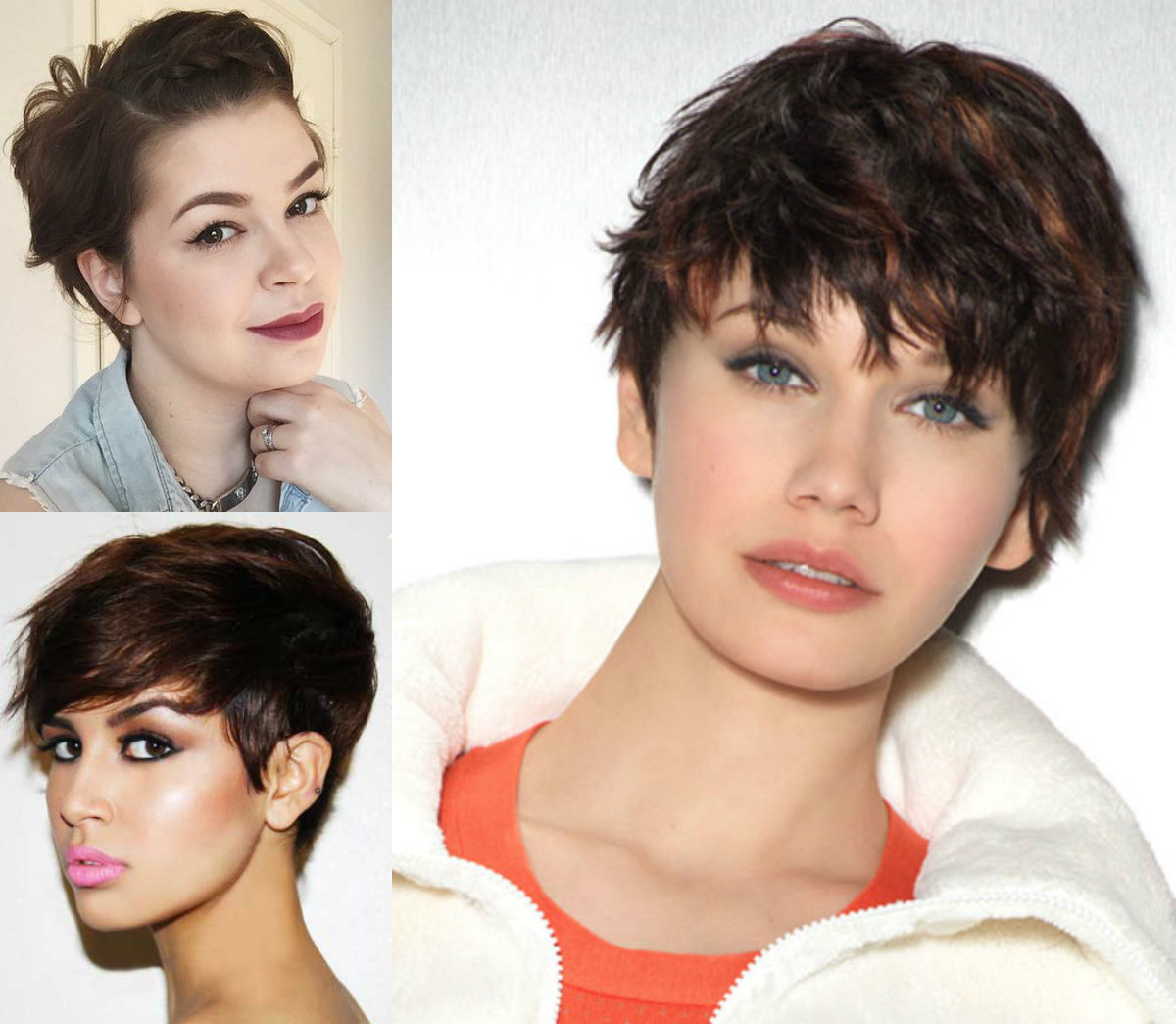 Short Haircuts For Round Face Shape 12