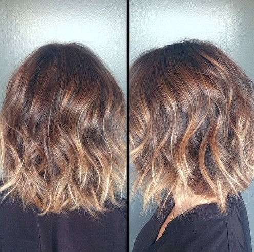 Short Ombre Hairstyles 2018 1