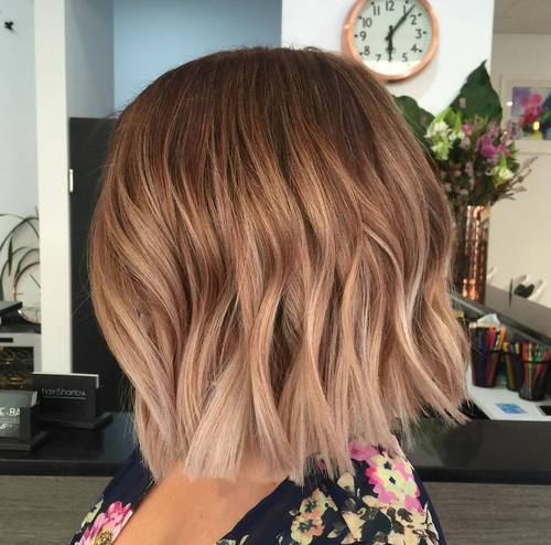 Short Ombre Hairstyles 2018 2