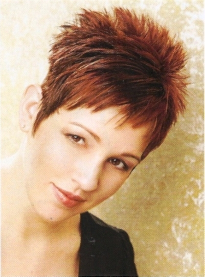 Cool Short Spiky Hairstyles With Popular Styles Easy Hairstyles Spiky Short Haircuts