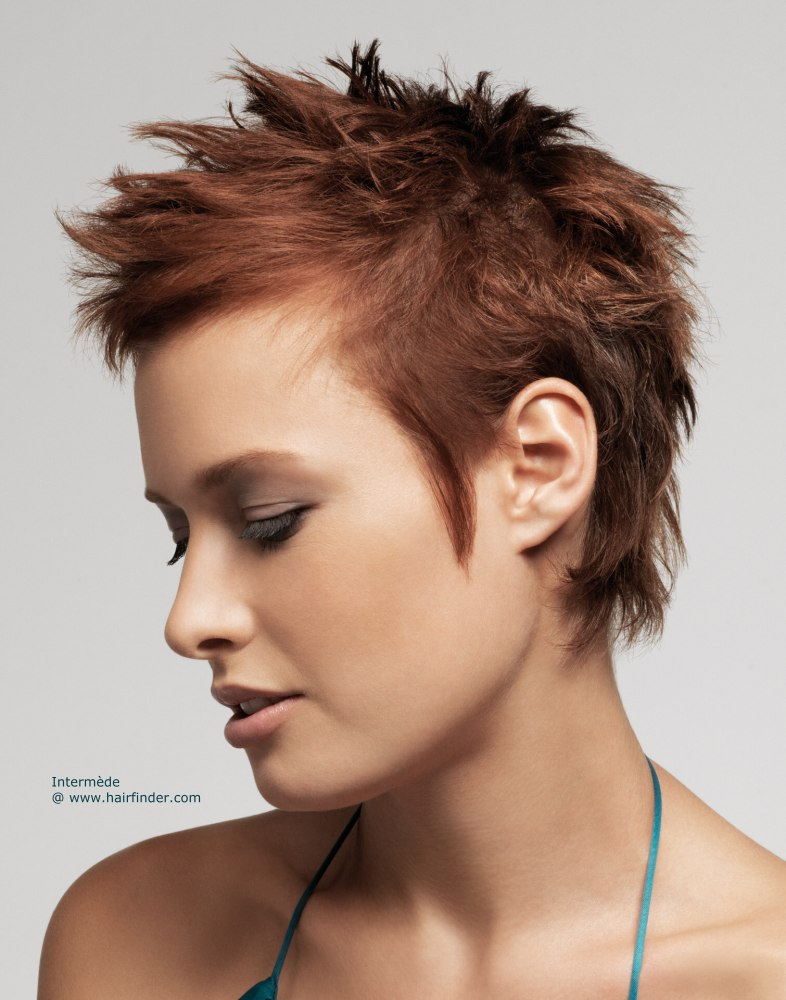 25 Short Spiky Haircuts 2018 Hairstyles Fashion And Clothing