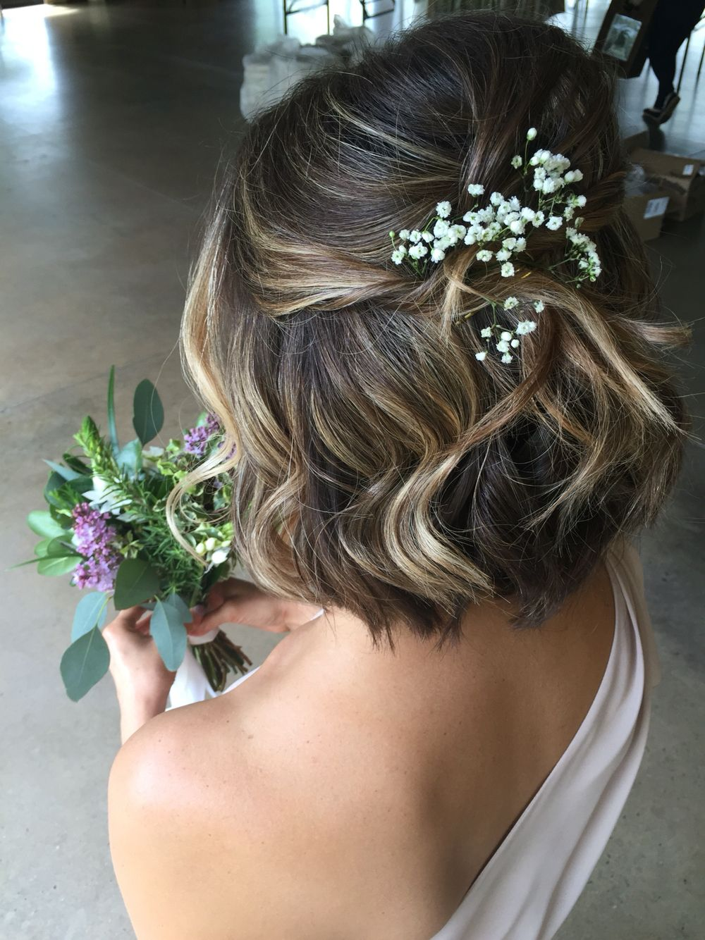 Wedding Hairstyles For Short Hair 1