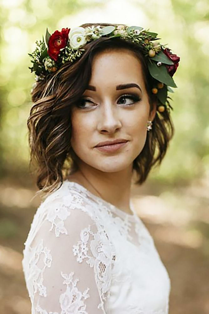 Wedding Hairstyles For Short Hair 13