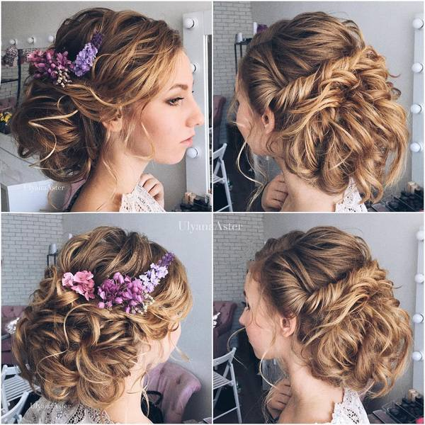 Wedding Updo Hairstyles For Long Hair 16