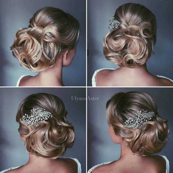 Wedding Updo Hairstyles For Long Hair 17