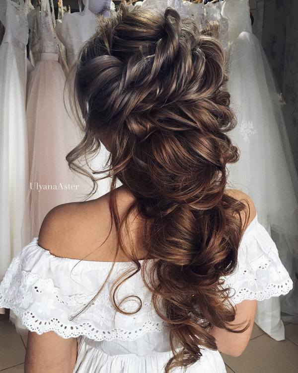 Wedding Updo Hairstyles For Long Hair 2