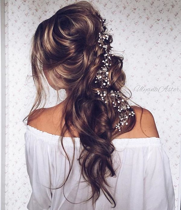 Wedding Updo Hairstyles For Long Hair 29