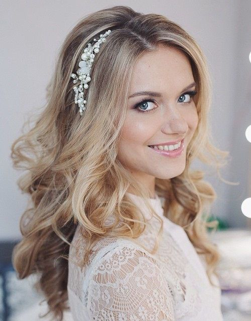 1 Long Loose Wedding Hairstyle