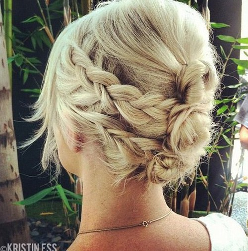 1 Quick Braid And Bun