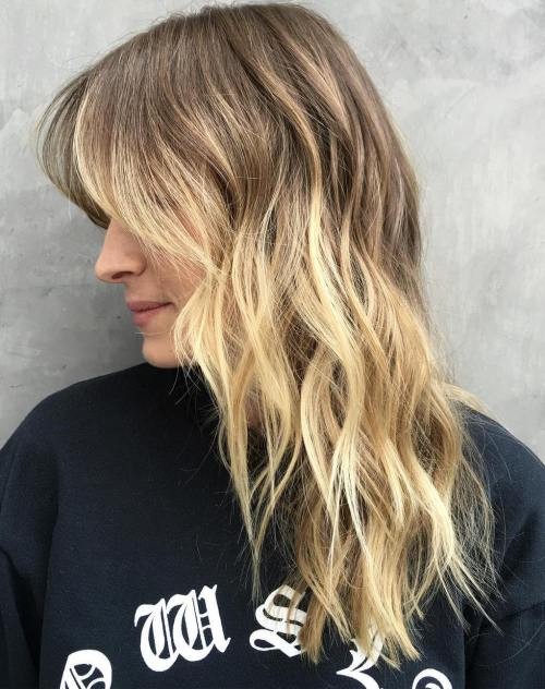 10 Bronde Shag Haircut For Longer Hair