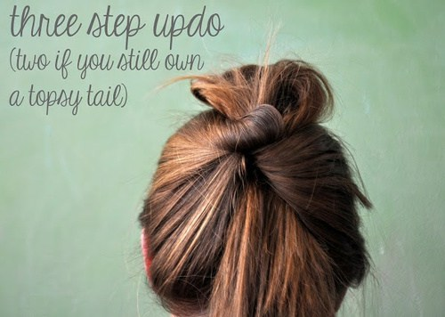 10 Three Step Updo