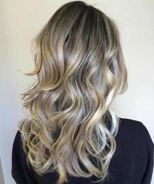 12 Ash Blonde Hair With Golden Highlights