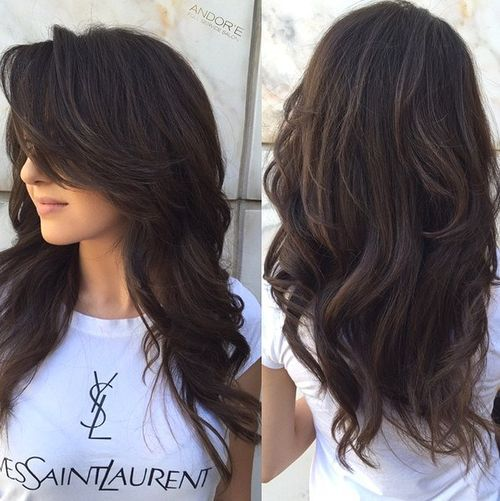 12 Long Layered Hairstyle For Thick Hair