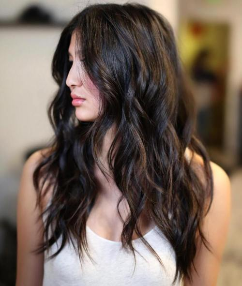 13 Black Hair With Brown Highlights