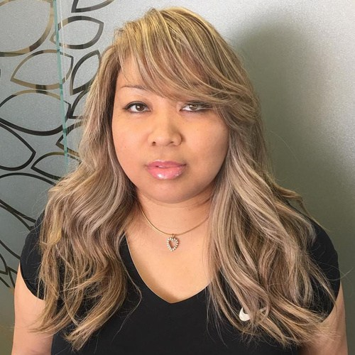 14 Long Layered Hairstyle With Bangs