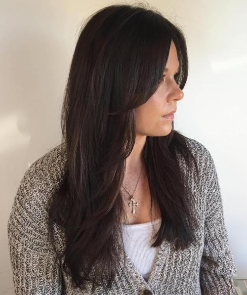 15 Haircut With Faceframing Layers For Long Hair