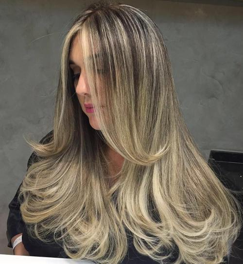 15 Long Bronde Balayage Hair