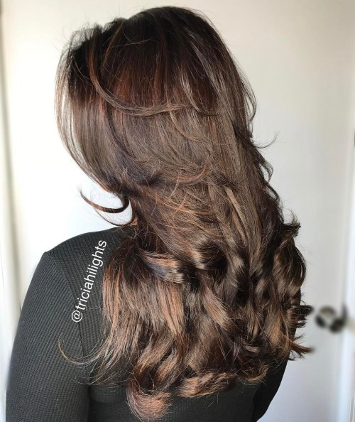 16 Brunette Hairstyle With Layers For Long Hair