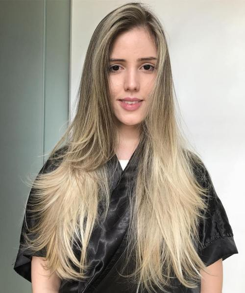 16 Long Layered Hairstyle