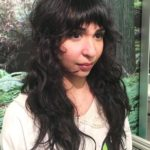 19 Long Curly Shag With Bangs