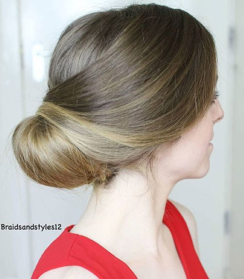 20 Low Wedding Updo For Long Hair