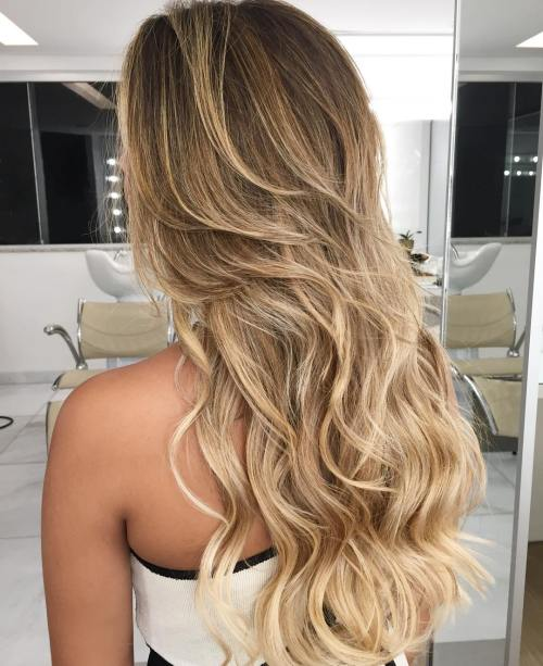 3 Long Wavy Hairstyle With Medium Layers