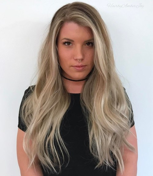 4 Long Hairstyle For Fine Hair