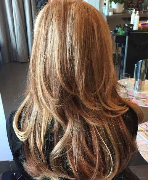 6 Twolevel Layered Hairstyle For Long Hair